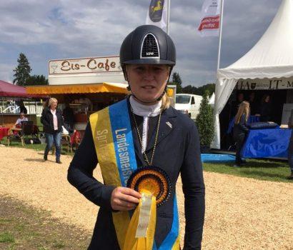 Gold für Anja-Sabrina Heinsohn, Silber für Mylen Kruse bei den Landesmeisterschaften in Verden