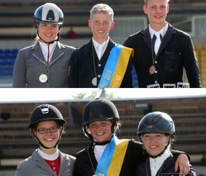 Michelle Mielke und Hanna Schreyer gewinnen Silber bei den Landesmeisterschaften in Verden