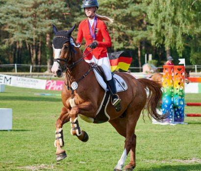 Silbermedaille für Mylen Kruse in der Mannschaft bei der EM