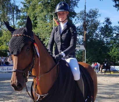 DJM Zeiskam: Bronze für Mylen Kruse bei den Jungen Reitern Springen