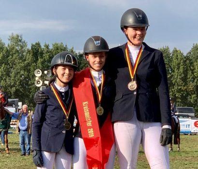 Medaillen bei der Kreismeisterschaft