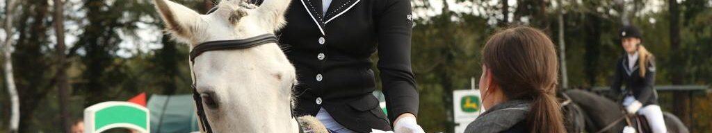1. Platz für Lena Brandt im E-Springen in Wintermoor
