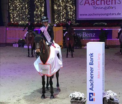 Aachen Youngstars: Mylen Kruse gewinnt Hallen-Championat der Jungen Reiter